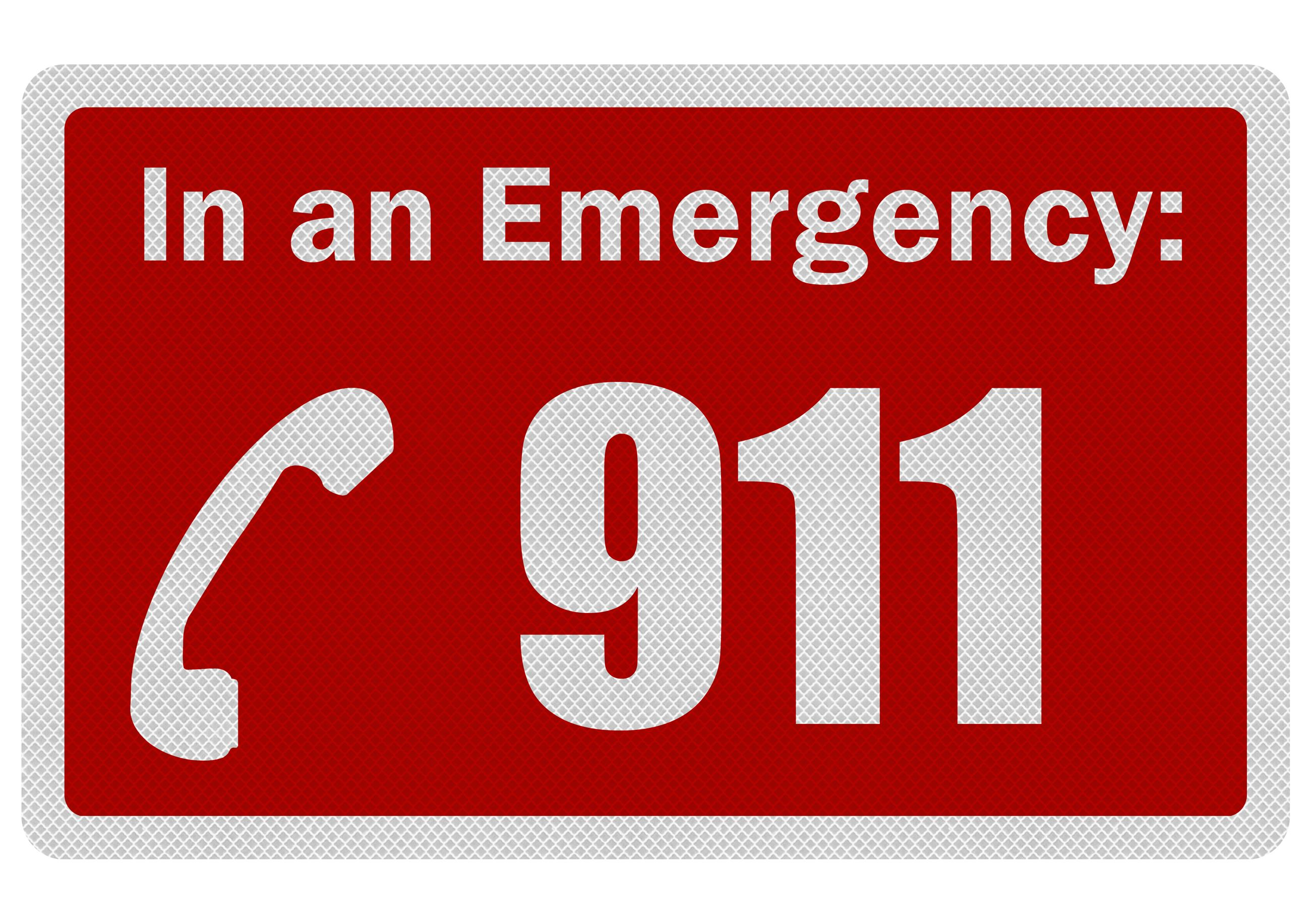 In an Emergency call 9-1-1