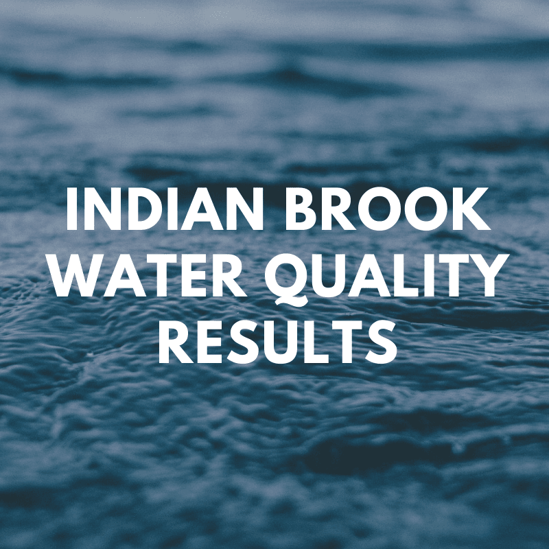 Indian Brook Water Quality Link